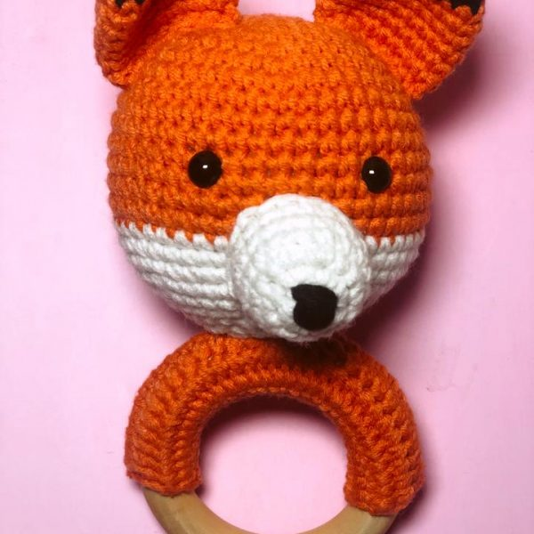 Fox teether Rattle