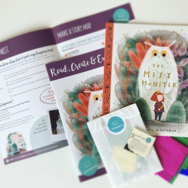 Subscription box from A Pocketful Of Books
